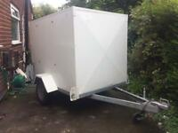 Lynton loadtrekker box trailer. Tools