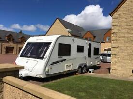 Compass Rallye 636 2009 twin axle caravan (Same as Elddis Superstorm)