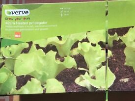 Brand new in the box .... 42CM B&Q HEATED PROPAGATOR