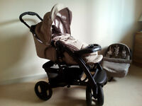 Graco Travel System, bear and friends,