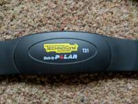 Polar Technogym T31 heart rate chest strap.