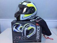 Nitro Junior Vertice Helmet - Never Used