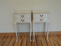 Pair of French Bedside Tables (UK Delivery)