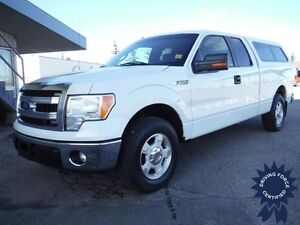 2013 Ford F150 XLT SuperCab 2WD - 6.5ft Box - Canopy - 5.0L V8