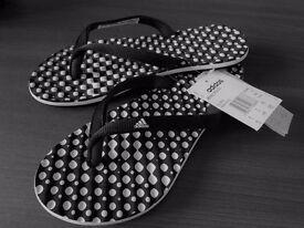Adidas flip-flops
