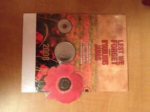 2008 Lest We Forget Coin set