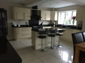 Entire kitchen with granite top and appliances - Very good condition