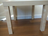 Small Coffee Table Ikea Birch Effect - Good Condition