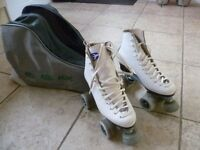Ladies / Girl's Roller Skating Boots and Holdall