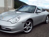 Porsche 911 Carrera 2 tiptronic cabriolet with removable hard top