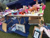 Large job lot car boot / table top items