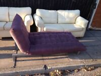 Sofa bed / day lounger in good working order