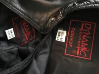 Dynamic Mens Leather Jacket (COWHIDE)
