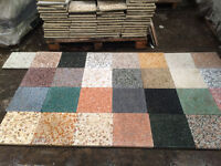 Tiles Terrazzo cement in honed finish Thickness: 2cm Size 30 x 30 £3 price for 100+