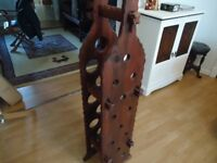 Wooden Freestanding Wine Rack.