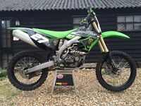 Kawasaki KXF 450 EFI fuel injected