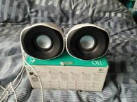 Logitech Z110 Laptop Speakers, Boxed