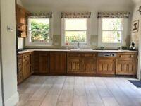 Smallbone oak kitchen large