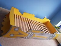 Single Bed, Childrens Digger Bed