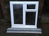 Window (UPVC) and lintol (used)