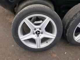 Mercedes 18 inch alloys