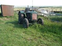 fordson tractor antique