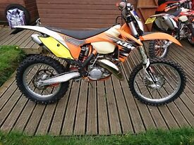 KTM XC 150 Enduro Road registered PX and delivery possible