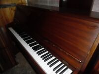 upright piano by monnington and weston --also required--