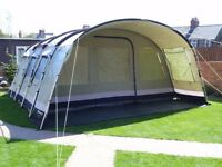 Outwell Wolf Lake 7 polycotton family tent