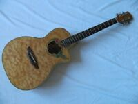 Luna Fauna Hummingbird Parlour Electro Acoustic Guitar Model SW13239413