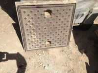 Cast Iron Manhole Cover 450 x 450 (with frame 470 x 470)