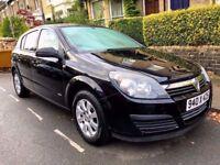 Reduced: Vauxhall Astra Club auto 88k black