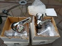 new matching bath and basin taps. free!