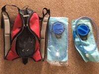 Hydration bag and 2 bladders