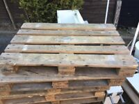6 Large Pallets - Free for collection