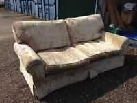 Large 2 Seater laura Ashley sofa.£110. Local delivery