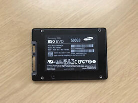 "Samsung 850 EVO 500GB (2.5"") Internal SSD"