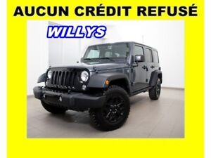2017 Jeep Wrangler WILLYS WHEELER 4X4 V6 3.6L HIGH GLOSS MAGS