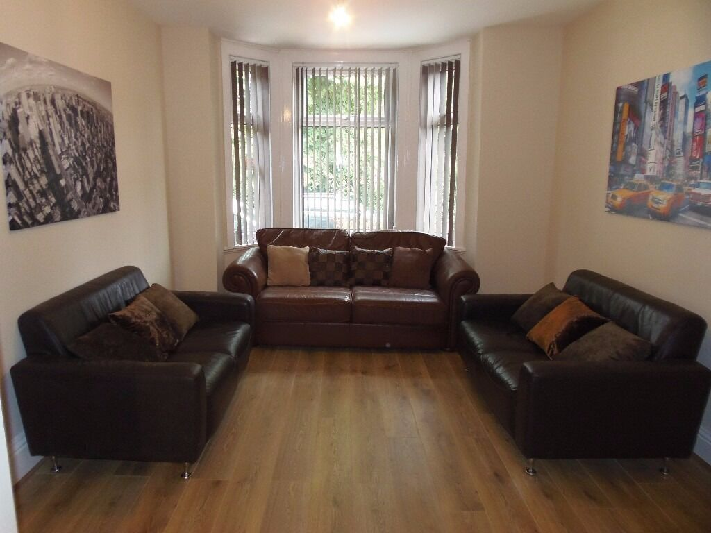 1st July 17 - 5 DOUBLE Bed House Rippingham Rd Withington 5 x £368.33pcm FREE TV & TV LICENCE!