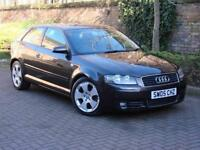 FINANCE AVAILABLE!!! 2005 AUDI A3 2.0 TDI SPORT 3dr, 6 SPEED, 1 YEAR MOT, FSH, AA WARRANTY