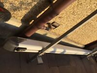 VW T5 roof rack with pipe carrier