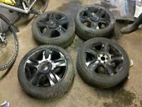 "Ford 18"" wheels and tyres"