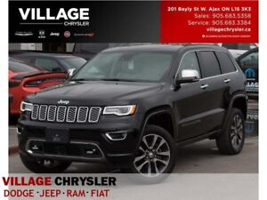 2017 Jeep Grand Cherokee Overland Advan Safety HK Sound Tow Pans