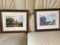 *** TRADITIONAL WOODEN FRAMED PRINTS... 10 INS X 8 INS... FREE ***