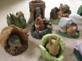 Porcelain Woodland Animals