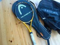 HEAD Instinct MP Tennis Racquet Racket with Head rucksack bag + balls