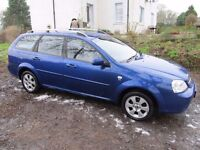 chevrolet lacetti estate 1.8 automatic 2009 very low miles