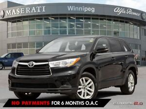 2016 Toyota Highlander LE; ONE OWNER, ACCIDENT FREE