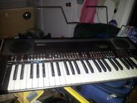 Electronic key board -Technics