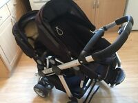 ICandy Pear twin buggy
